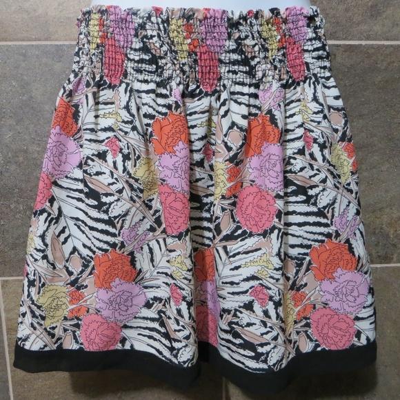 Zara Dresses & Skirts - Floral Zara Basic Skirt